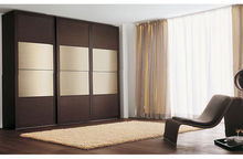 best selling white wooden wardrobe with mirror