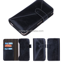 Customized OEM/ODM universal leather case cover for mobile phone
