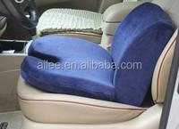 U shape bus driver memory foam car seat cushion with airy cover