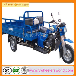 China Manufacturer 2013 New Product 150cc&200cc Sky blue MTR CargoTricycle KV150ZH-E4 Factory direct sales Three wheel motorcyle