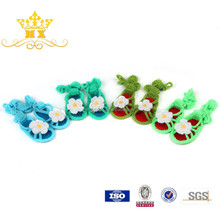 High quality fashion cotton fabric infant baby shoes