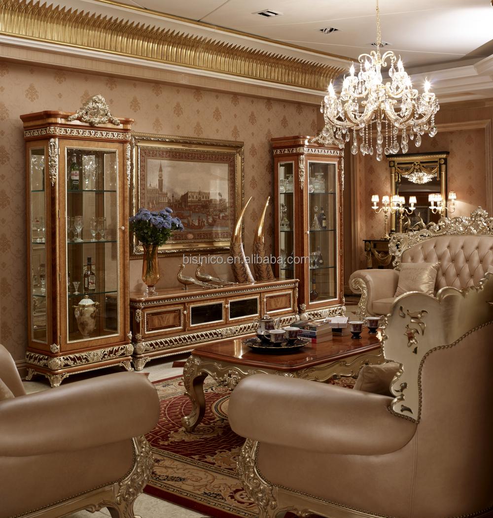 Victoria style palais doré chambre À coucher en bois, exquis en ...