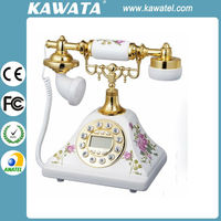 Caller Id Old Fashion Europe Wall Antique Telephone