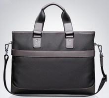 Nylon men handbag, Customized wholesale waterproof business men tote bag