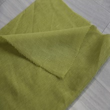 Decorative home textile design plain woven linen looks tulle drapery fabric for ready curtains