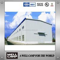China Light Steel Structure/Economic Prefabricated Warehouse Price