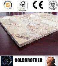high quality 1220mm*2440mm OSB with melamine from China
