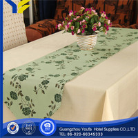 Damask Fabric new style Plaid pvc coated cotton tablecloths