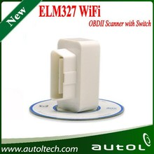 Best Price Super Wifi ELM327 With Switch OBD2 Code Reader ElM 327 OBD2 Car Diagnostic Tool OBD Scanner Interface, Elm327 Wifi