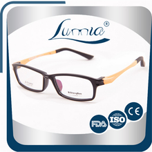 100% handcrafted classical and fashional famous brand tr90 glasses fashion eyewear spectacle temples