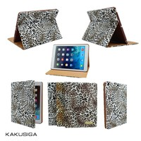 KAKU newest leopard pattern smart cover case for ipad mini 2