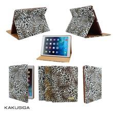 KAKU newest leopard pattern smart cover case for ipad mini 2