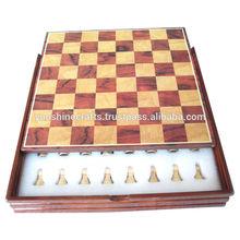 Juego de ajedrez 05, de ajedrez de madera junta, juegos, tablero de ajedrez de la caja, de ajedrez de madera conjuntos,