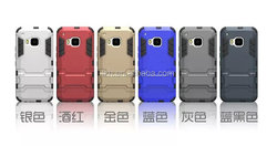 Hybrid kickstand 2 in 1 Armor Case for HTC one M9