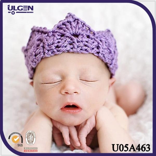 2014 banda para bebé corona banda para el cabello a crochet-Cintas ...