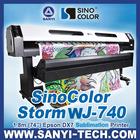 1.8m plotter de impressão com Chefes DX7, Últimas Photoprint 11 software rip, 1440dpi