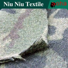 100% Wool Fabric Wholesale High Quality Arylic Fabric Camouflage For Lady Garment