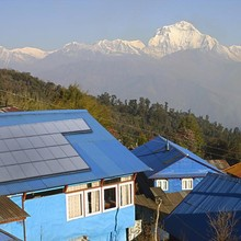 Hanergy 5000 watt energy solar pannel for home system