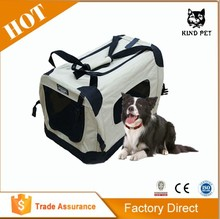 2015 Wholesale Designer Pet Carrier Portable Folding Dog Crate
