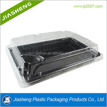 Disposable Plastic Food Grade Sushi Packaging Box