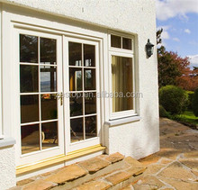 Double glazed aluminium used exterior french doors for sale