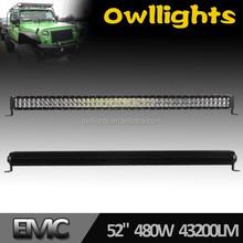 "High Power Dual Row Car LED Light Bar Off Road LED Driving Light Bars 288w 480w 50"" LED Spotlight for SUV, ATV, UTV snow plow"