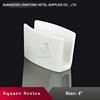 Hot Sale Supplier Popular Design Pure White Ceramics Napkin Stand/Holder