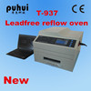 New leadfree reflow oven t-937, smt reflow oven,small wave soldering machine,IR and hot air oven