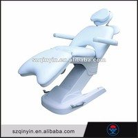 Simple whiter full body electric portable massage table