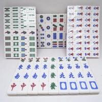 promotion mini colorful crystal traveling gift mahjong sets