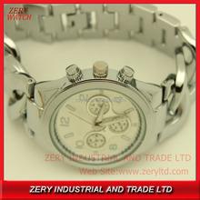 R0496 hot sales brand watch wrist watch , alloy band stainless steel case back watch wrist watch