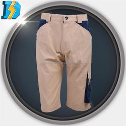 navy working uniform with 2 slide pockets enhanced kneepad and leg end