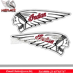 Non-toxic chinese chopper motorcycle of stickers