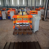 Hot selling steel roll forming machine for two designs prices