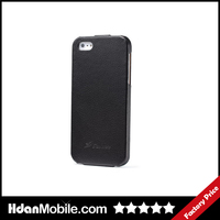 Genuine Magnet Leather Flip Case for iphone 5s Mobile Phone Bags & Cases