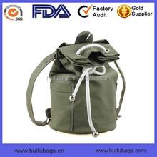 Fashion stylish Unisex sport cotton canvas backpack for basketball