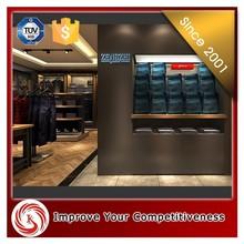 Stationery shop furniture menswear shop interior shop counter design images/decorative wall panel/shelf rack