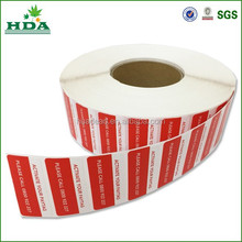 Custom label stickers in roll / adhesive printing labels in roll
