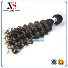 8A top quality indian clip in hair extensions disposable hair nets