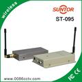 1.2 ghz analógico sem fio portátil 1km 5 watt transmissor fm