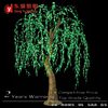 2.0 meter height High artificial outdoor led weeping willow tree light