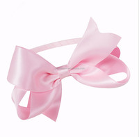 Wholesales Boutique Girl Pink hiar bow hairband