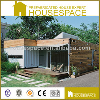 Green Waterproof Timber Frame House for Shop