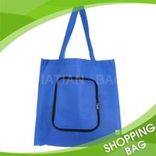 Wholesale Fold Up Reusable Non Woven Shopping Bags