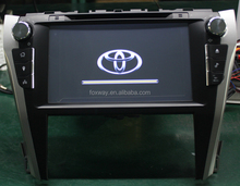 toyota camry touch screen car dvd player with reversing camera