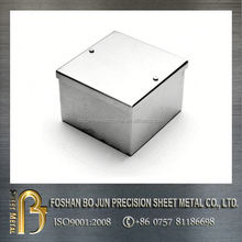 high precision manufacture brushed process metal case new products made in china supplier