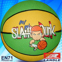 Good quality official size new style rubber innner toy basketball