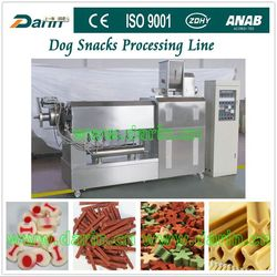 Fully Automatic Dry Pet Treats Machine Process Plant