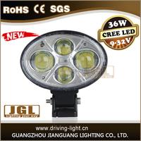 NEW cob oval jeep headlight 12v led driving light Emark led work light for jeep high quality led work lamp