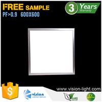 slim 600x600 wholesale ceiling surface square led panel light